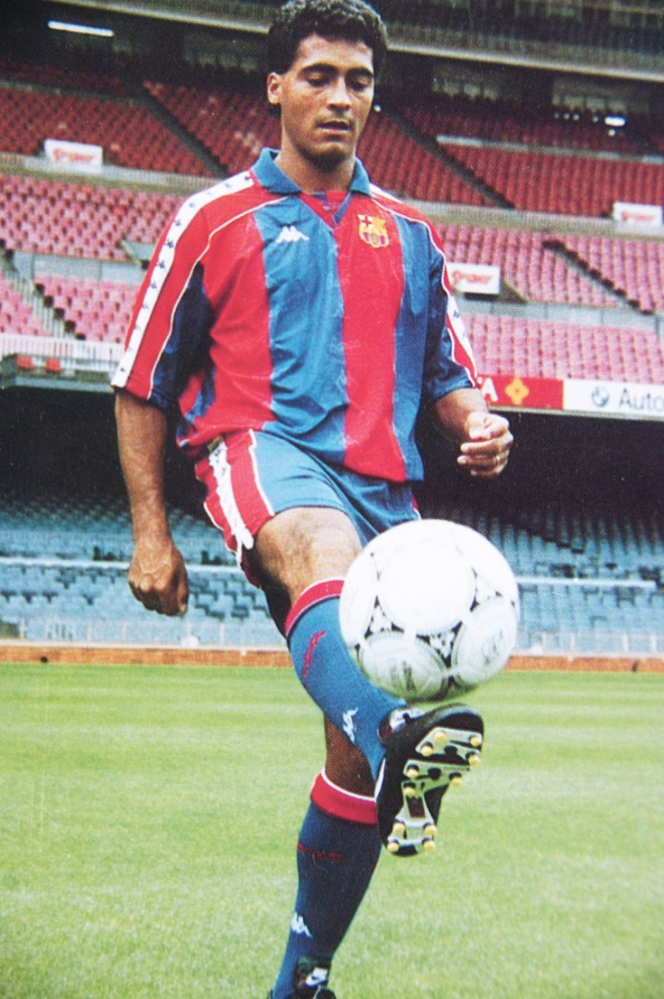 Prezentarea lui Romario la FC Barcelona, 1993