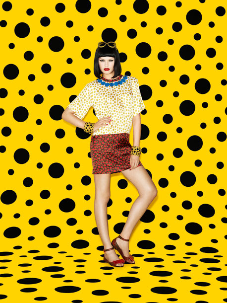 kusama-vuitton-lookbook