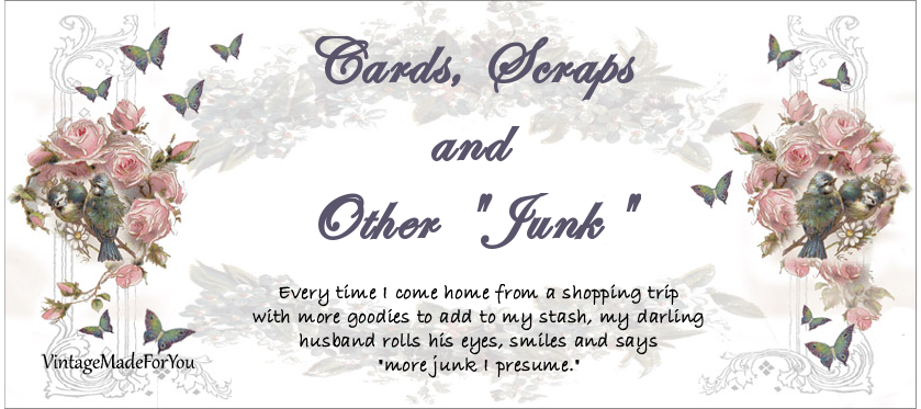 "cards, scraps, and other ""junk"""