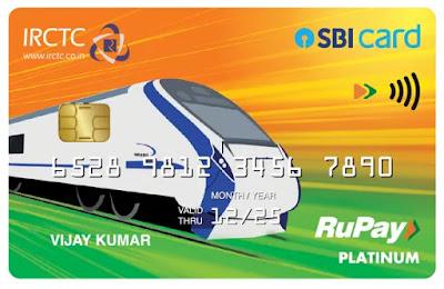 IRCTC SBI Card on RuPay