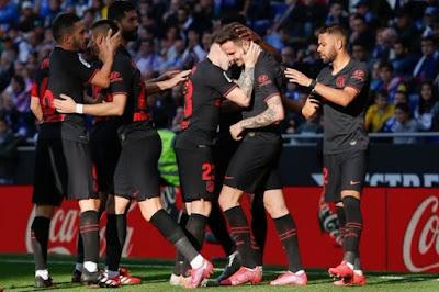 ملخص واهداف مباراة اتلتيكو مدريد وبلد الوليد (1-0) في الدوري الاسباني