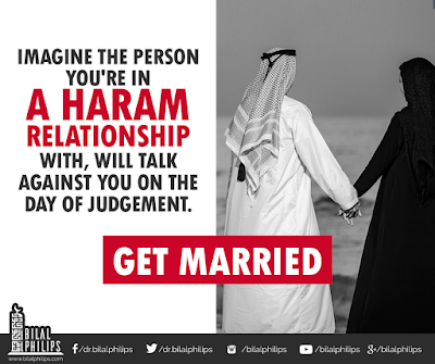 Do not spoil the purity of love by involving in Haram relations