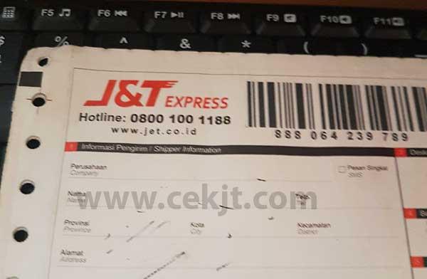 Cara Cek Nomor Resi J&T Kiriman Kab Aceh Barat