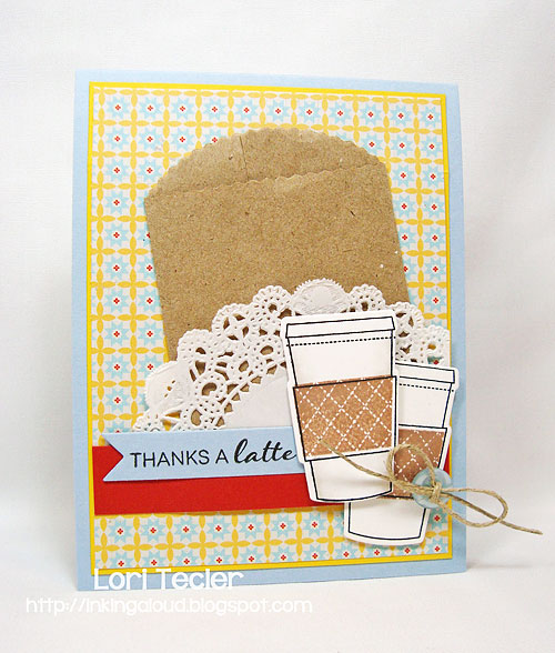 Thanks a Latte card-designed by Lori Tecler/Inking Aloud-stamps and dies from Clear and Simple Stamps