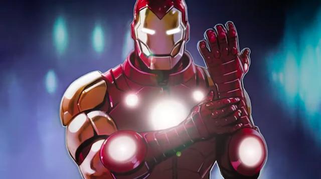 Homem de Ferro Marvel Comics 2020