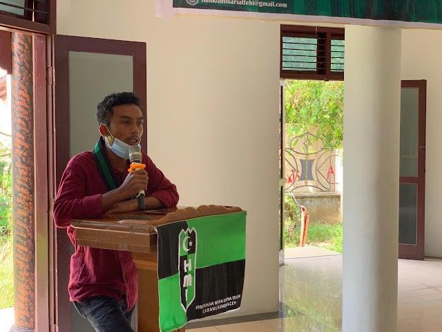 HMI Komisariat Fak Ekonomi dan Bisnis Islam UIN Ar Raniry Apresiasi Kunjungan Komisaris Independen BSI