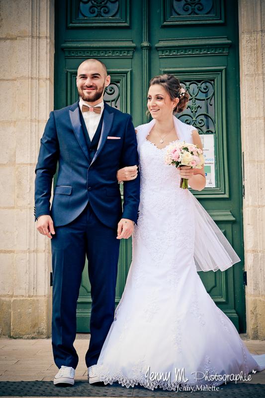 reportage photo sortie des mariés