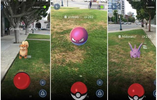 Assaltantes usam mapas pokemon para praticar assaltos