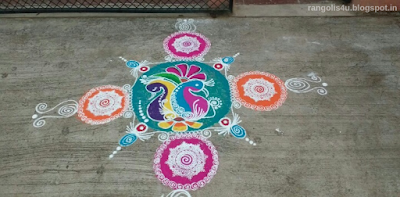 Rangolis for Puthandu
