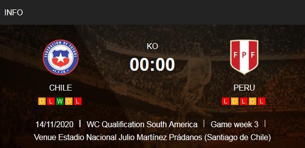 بث مباشر مباراة تشيلي والبيرو
