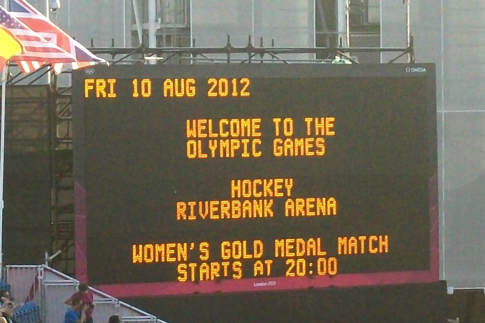 London Olympic Women's Hockey Final 2012