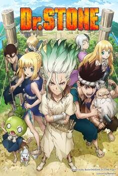Dr. Stone 1ª Temporada Torrent - BluRay 1080p Dual Áudio