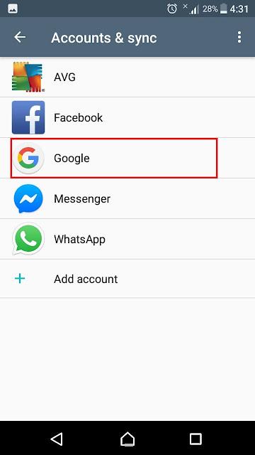 كيفية تغيير وحذف حساب Google في الهاتف إستبدال حساب جوجل في هاتف الاندرويد