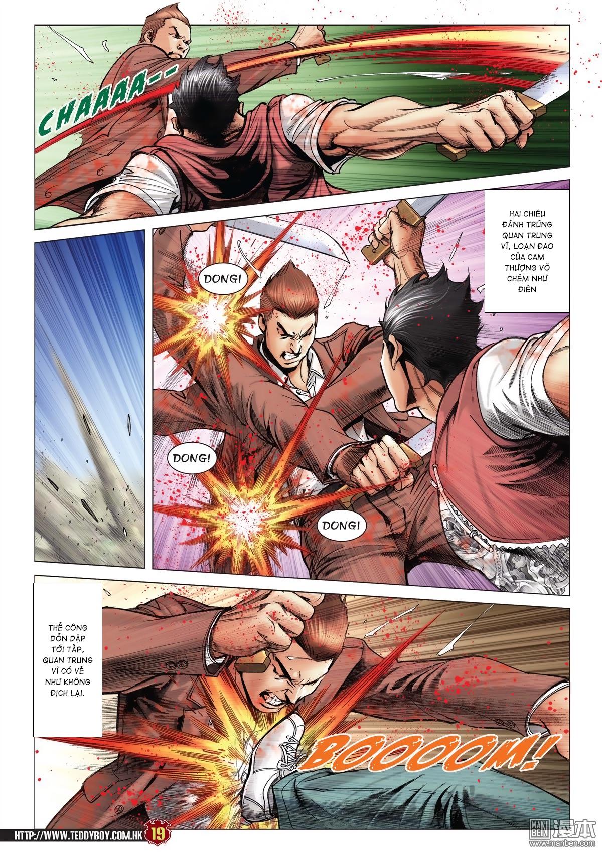 Người Trong Giang Hồ chapter 2015: tọa sơn hổ vs đại phạn trang 16