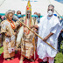 Kwara Gov. Presents Staff Of Office To New Olupo, Preaches National Unity