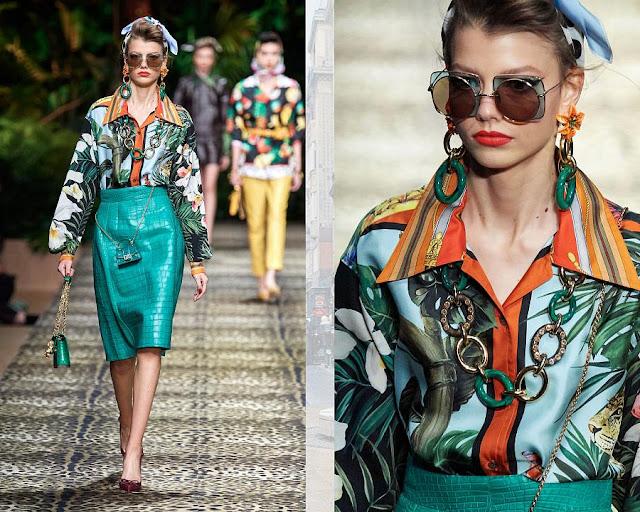 Dolce & Gabbana весна-лето 2020 Показ моды 4