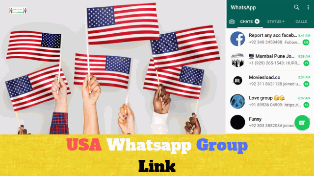 140+ Best USA Whatsapp Group Link List Collection