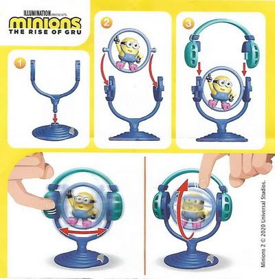 Миньон с наушниками Kinder Maxi 2020