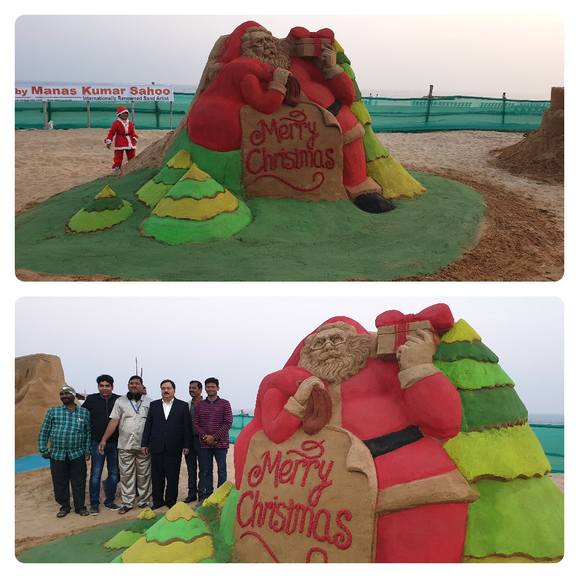 Sand Art On Puri on the occasion of Bada Dina