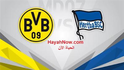 موعد مباراة بوروسيا دورتموند وهيرتا برلين في الدور الـ (30) 6-6-2020 ضمن بطولة الدوري الالماني   موعد مباراة بوروسيا دورتموند وهيرتا برلين