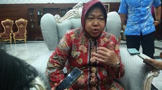 Surabaya Catat Kasus Corona Terbanyak, Risma Membantah: Sebetulnya Sudah Turun