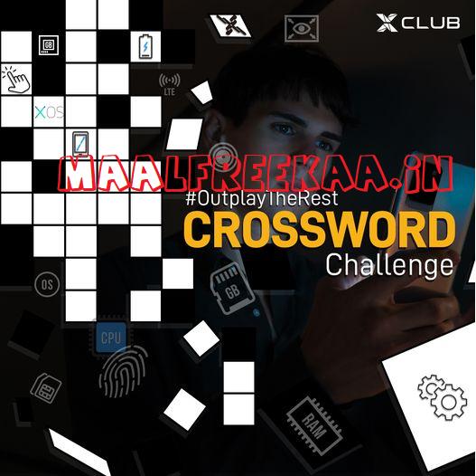 Infinix Mobile Crossword Challenge & Win