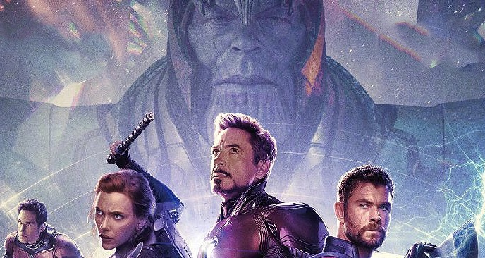See The Latest Avengers Endgame International Poster