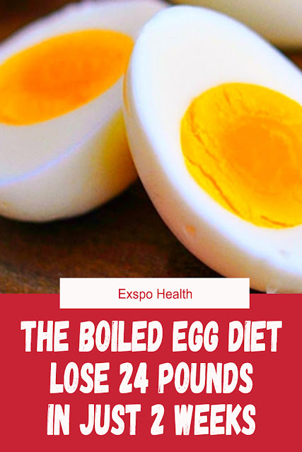 LOSE 11 KG WITH THE BOILED EGG DIET IN JUST 2 WEEKS