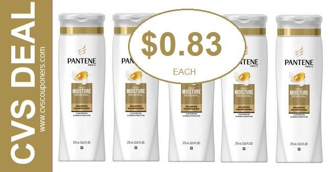 CVS Couponers Pantene Deal $0.83 10-27-11-2