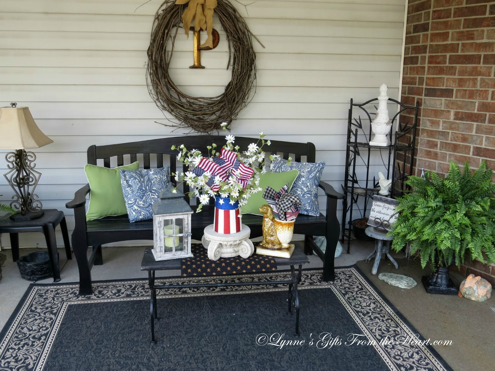 Lynne S Gifts From The Heart An Americana Patio