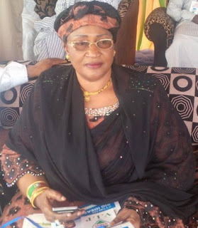 Nigeria's Women affairs Minister Jummai Alhassan faints