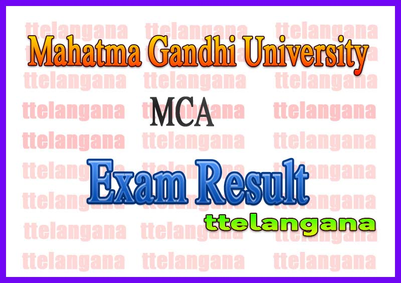 Mahatma Gandhi University MCA Exam Results