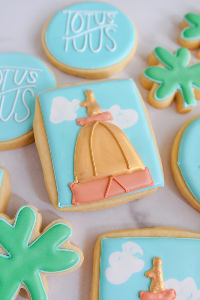 notre dame golden dome cookies