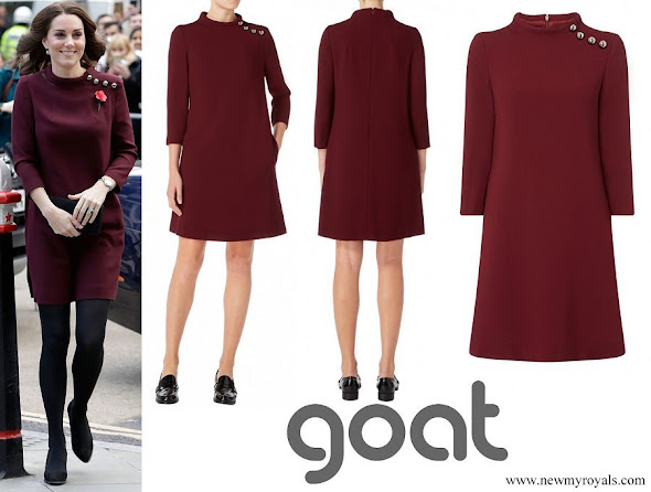 Kate Middleton wore Goat Fashion Eloise Tunic dress