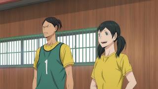ハイキュー!! アニメ 2期11話 | 生川 マネージャー  | HAIKYU!! 梟谷学園グループ 合同合宿