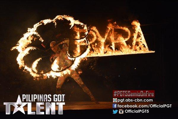 Amazing Pyra gives blazing semi-finals performance