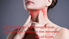 Sakit Tenggorokan | Cara Mengatasi Tenggorokan Sakit Ketika Menelan Makanan