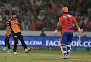 SRH vs GL 34th Match IPL 2016 Highlights