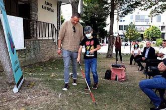 """Στέφθηκε με επιτυχία η εκδήλωση  του Συλλόγου Τυφλών Δυτ. Μακεδονίας  """"Μετακινούμαστε βιώσιμα – Μένουμε υγιείς"""""""