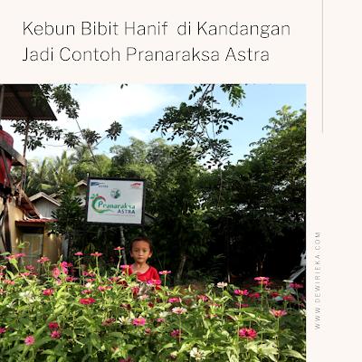 Hanif Wicaksono, Pelindung Buah-Buahan Langka Khas Borneo