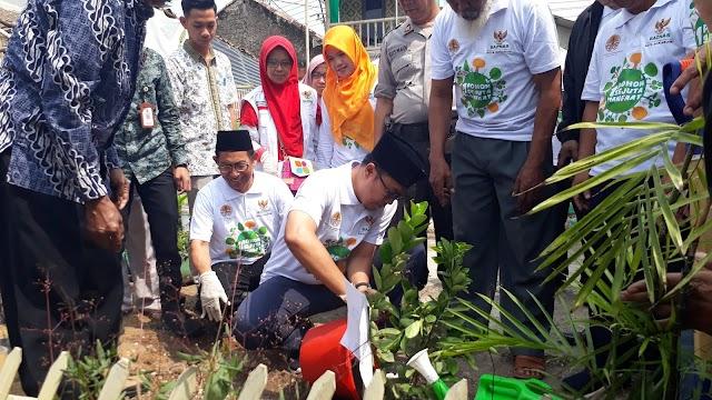 Wali Kota Launching Tanam Pohon di Lokasi Zakat Community Development
