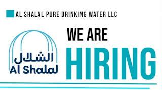Al Shalal Pure Drinking Water LLC Dubai, Recruitments For Driver, Salesman and Business Development Executive In Dubai