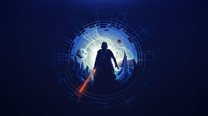 Tela de Fundo Abstrato Darth Vader