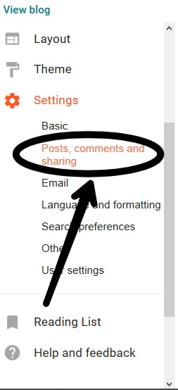 How to Add Comment Box In Blogger website