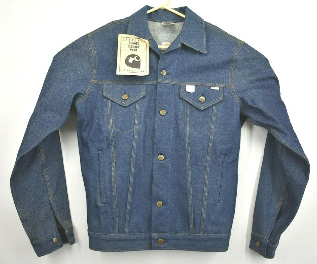https://www.ebay.com/itm/Vintage-NOS-Carhartt-Mens-40-Tall-Blue-Denim-Jean-Button-Up-Outdoor-Jacket-JU118/283721323637?hash=item420f1bd475:g:7XUAAOSwwRReAhRV