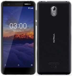 Nokia 3.1 Android One smartphone with 5.2-inch HD 18:9 display