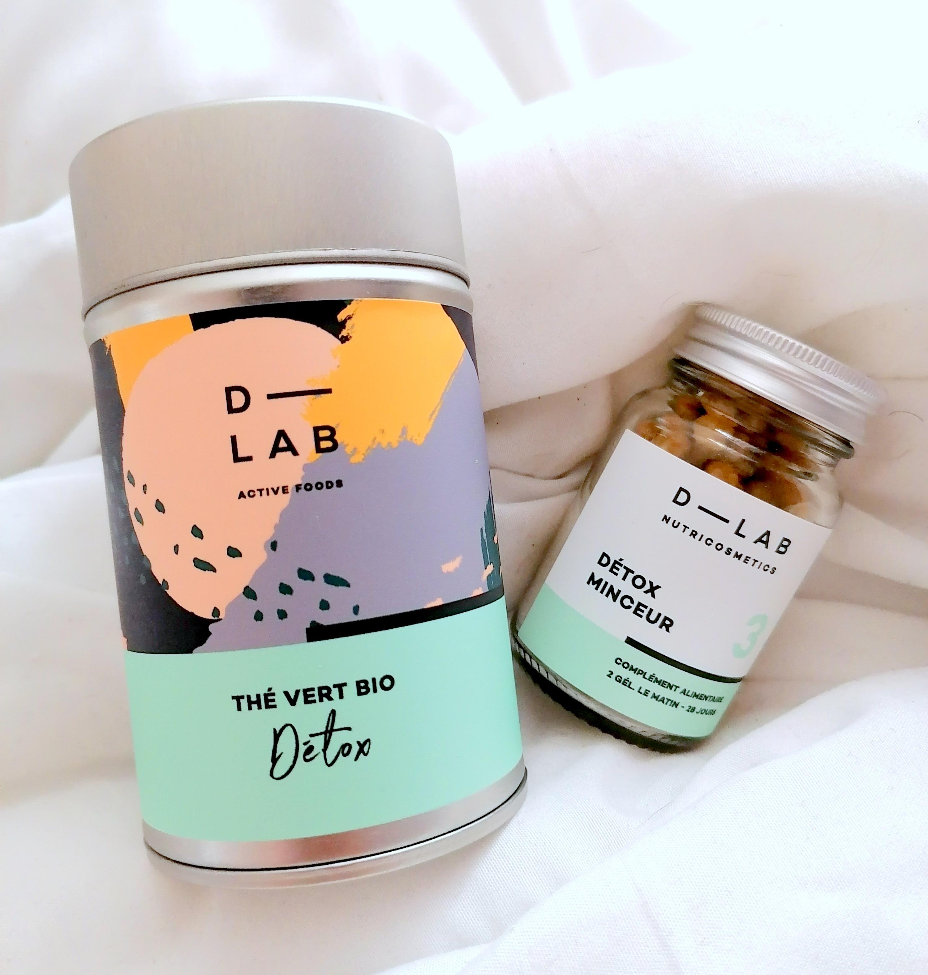 D Lab /Duo Détox Minceur & Thé BIO Détox