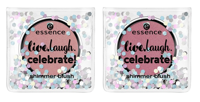 essence live laugh celebrate blush