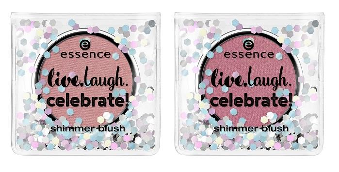 essence live laugh celebrate blush