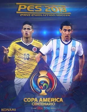 New Patch Copa America Centenario 2016